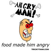 Food Made Him Angry